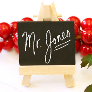 Mini Easel Place Cards