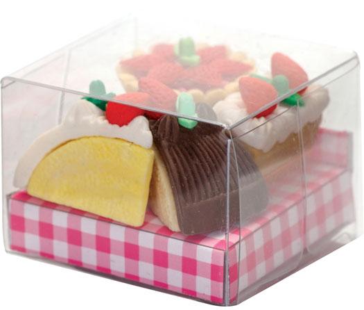 Kuchen Radiergummi Set