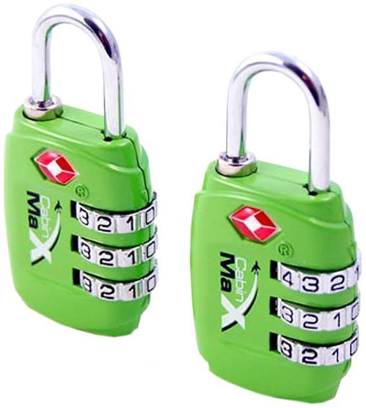 TSA Combination Lock - 2 pack