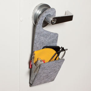 Door Knob Pocket
