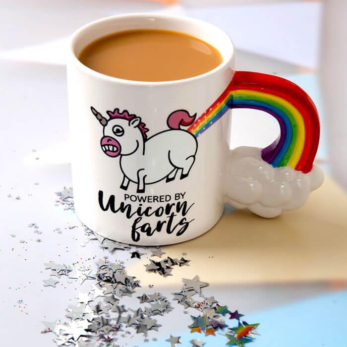 The Unicorn Farts Coffee Mug