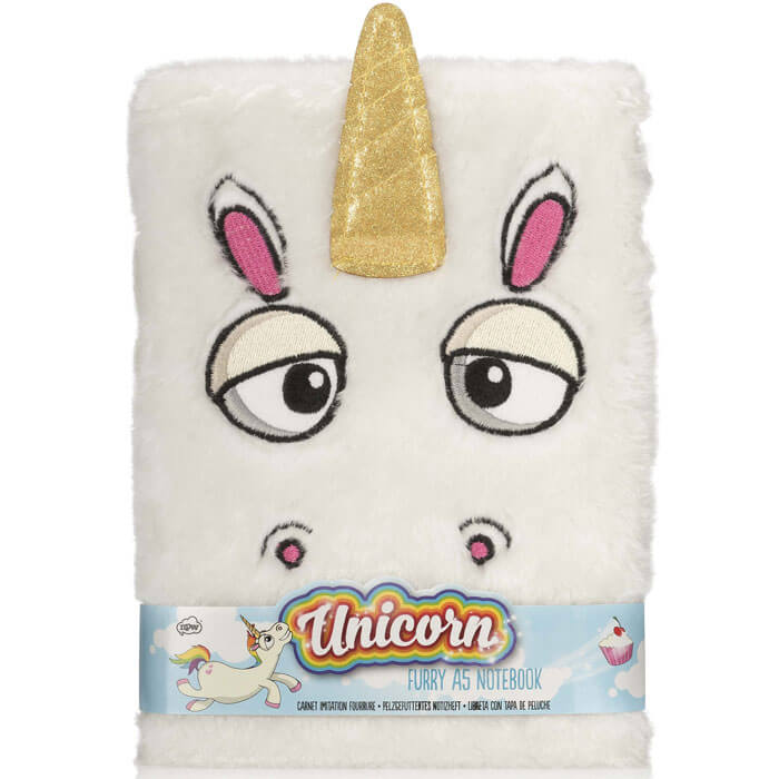 Unicorn Furry Notebook