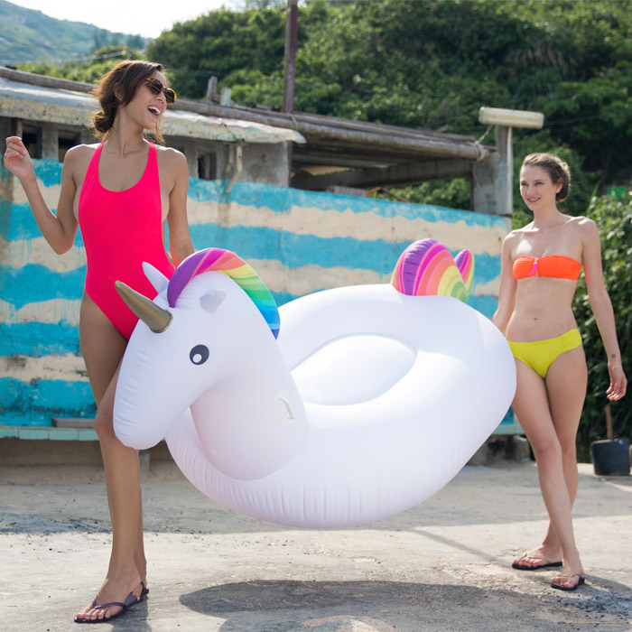 Inflatable Rainbow Unicorn