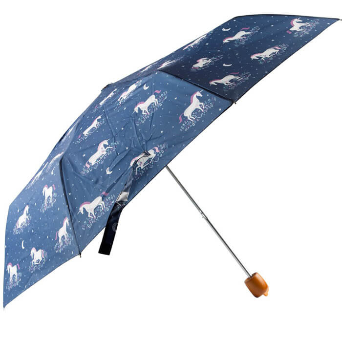 Starlight Unicorn Folding Umbrella