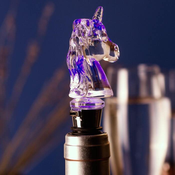 Illuminating Unicorn Bottle Stop