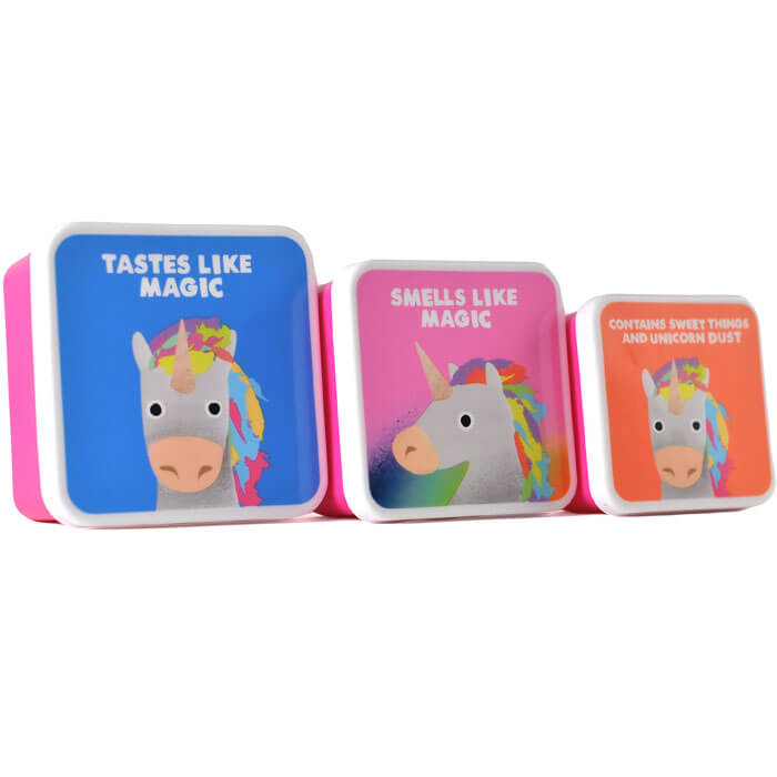 Unicorn Lunch Boxes Set