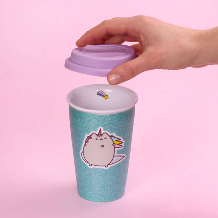 Unicorn Pusheen Travel Mug
