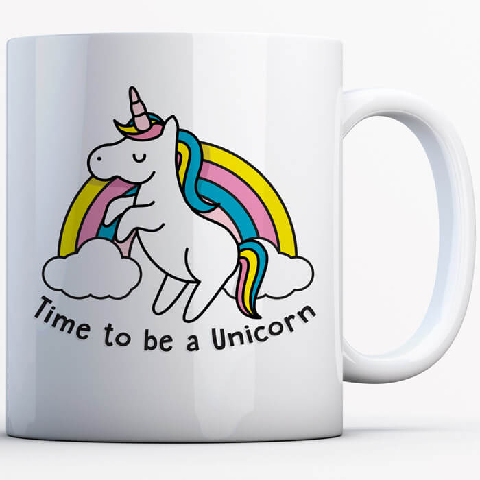 Einhorn-Tasse Time To Be A Unicorn