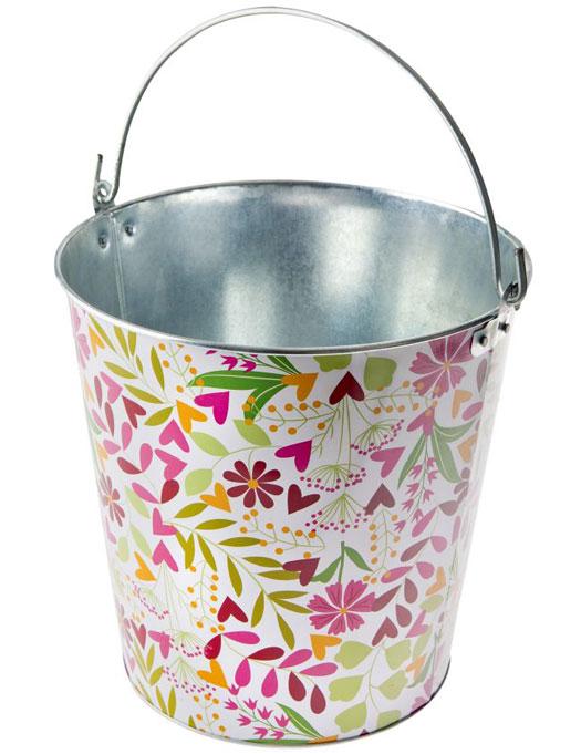 Metal Bucket 12 L Vigar Cubo Floral