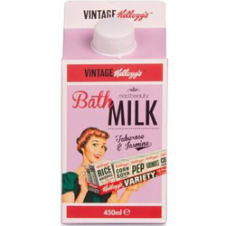 Kellogg's50's Vintage Rose Bath Milk