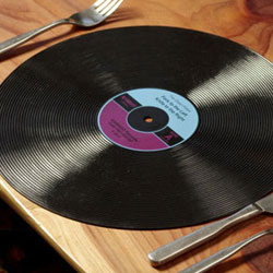 Record Placemats Set of 2