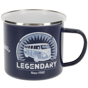 Tazza in Metallo Smaltato VW T1 500ml