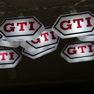 VW GTI String Lights