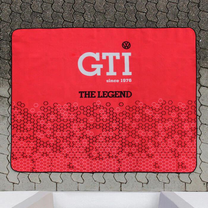 VW GTI Picnic Blanket