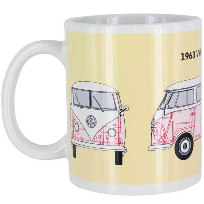 Volkswagen Campervan Heat Change Mug