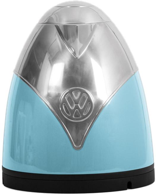 VW Bus Wasserkocher Blau