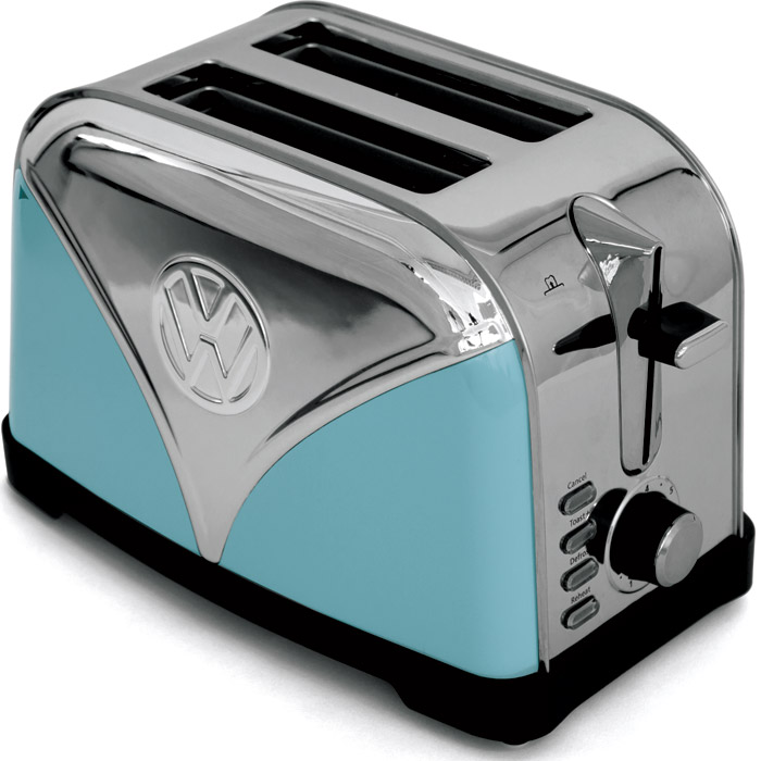 VW Bus Toaster Blau