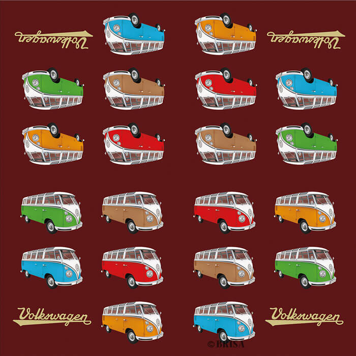 VW Samba Napkins