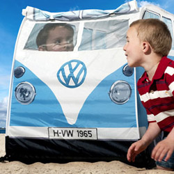 VW Camper Van Blue Kids Tent