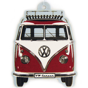VW T1 Bus Air Freshener Red