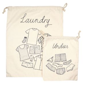 Travel Laundry Bags - Set of 2