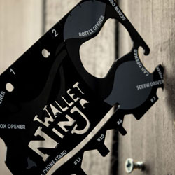 Wallet Ninja: Portemonnaie Multitool 16 in 1