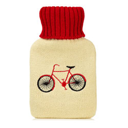Huggable Hottie Hot Water Bottles - Bicycle