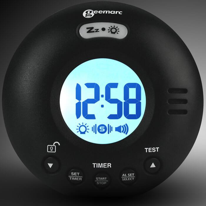 Wake 'n' Shake Voyager Alarm Clock