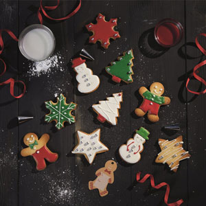 Christmas Cookie Gift Set
