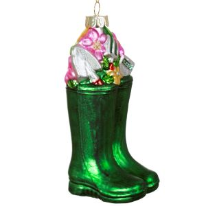 Wellington Boots Shaped Bauble