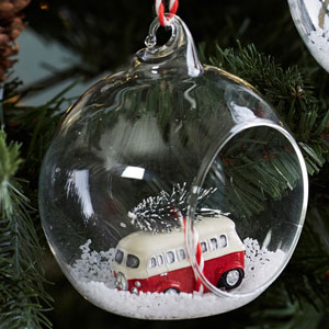 Campervan X-mas Bauble