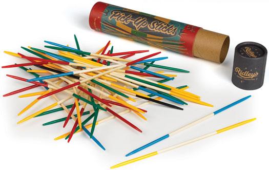 Ridley's Pick-Up-Sticks