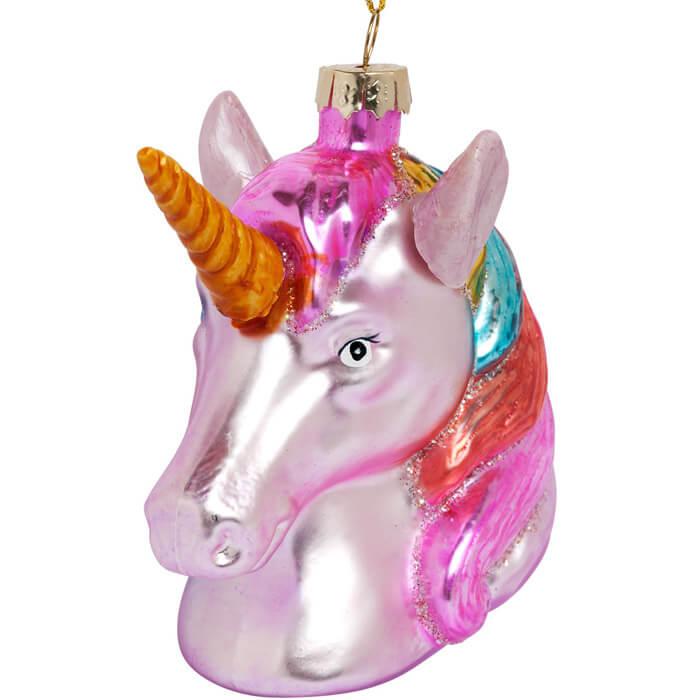 Festive Ornament Unicorn