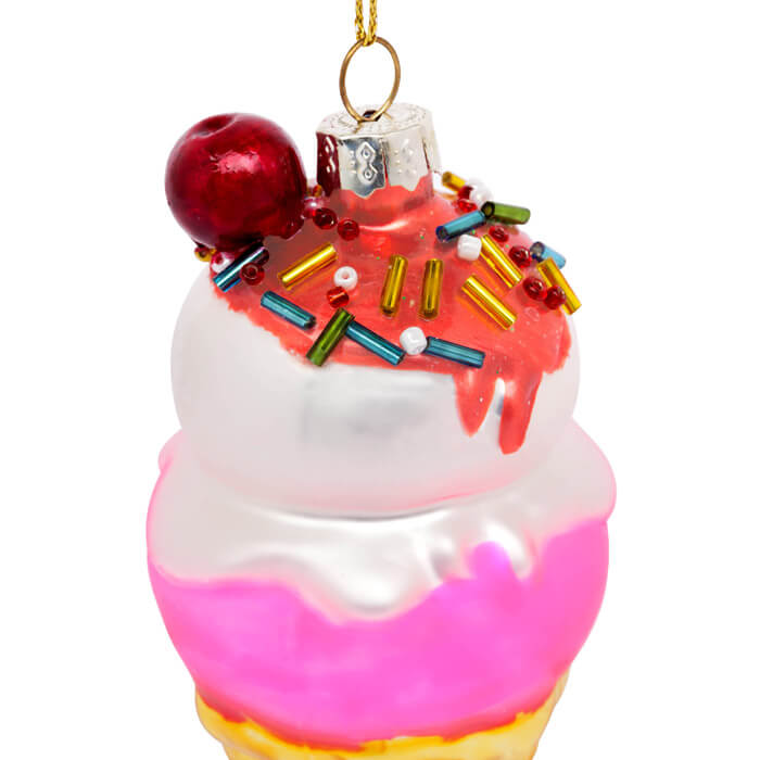 Festive Ornament Ice Cream