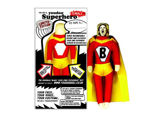 You Doo Superhero Female