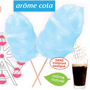 Flavoured Candy Floss Sugar Cola