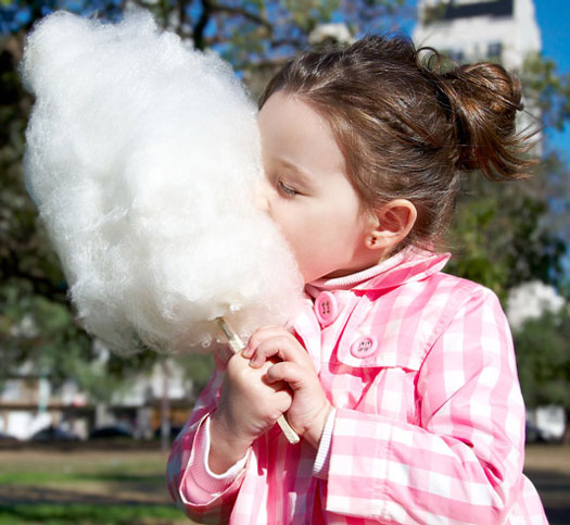 Traditional Candy Floss Sticks